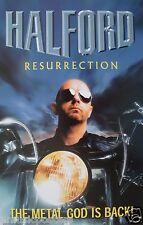 "HALFORD ""RESURRECTION-THE METAL GOD IS BACK!"" US PROMO ALBUM POSTER-Judas Priest"