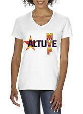 "V-NECK Ladies Jose Altuve Houston Astros ""MVP""  shirt"