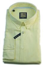 Seidensticker Hemd Schwarze Rose Slim Fit washed BD gelb Gr. 42 - 46 / 440852.61
