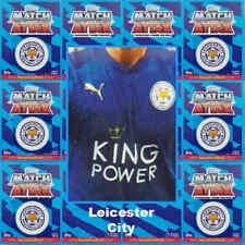 Topps Match Attax 2017 2018 Tarjetas De Fútbol Leicester City-Varios