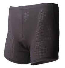 Jaggad Cycling bike spin class padded underpants knick shorts Uni Sex Black