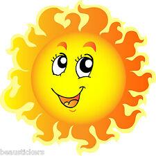 Stickers muraux enfant Soleil réf 822