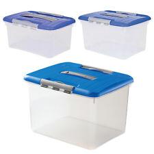 Universal Transportbox Allzweck Aufbewahrung Box Tragegriff Deckel 5 15 30 Liter
