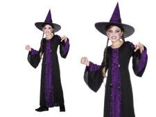 ensorcelé Costume Filles Sorcières Déguisement Halloween S-L