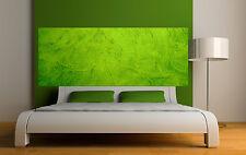 Adesivo testata del letto decorazione da muro Colore verde ref 3638 5 dimensioni