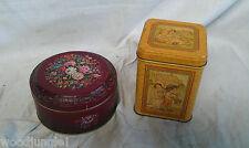 Vintage HALLMARK USA TIN BOX BARRINGER WALLIS MANNERS ENGLAND CANDY TEA COOKIES