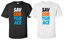 """Saved By Grace"" T-Shirt christian faith saved born again bible jesus christ"