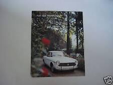 advertising Pubblicità 1966 FIAT 1500 PININFARINA