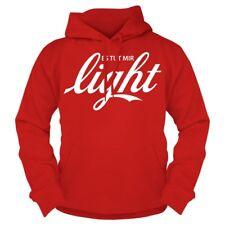 Con cappuccio Pullover fa mi Light hoodie verdetto di proverbi DIVERTENTE SPIRITOSO DIVERTENTE FUN