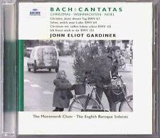 GARDINER BACH Weihnachtskantaten Christmas Cantata BWV 63 64 121 133 CD Monoyios