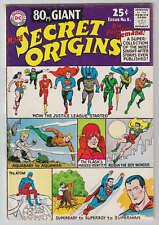 80 Page Giant # 8 More Secret Origins Jla Aquaman 1965