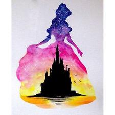 2018 Popular DIY 5D Full Drill Princess & Castle Diamond Painting Kit Home Decor